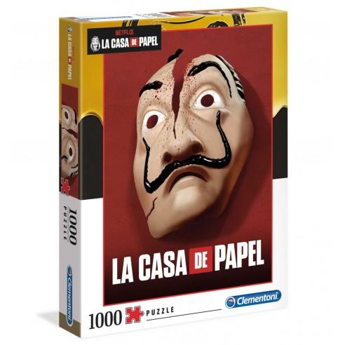 Puzzle La Casa de Papel Broken Mask 1.000 piezas