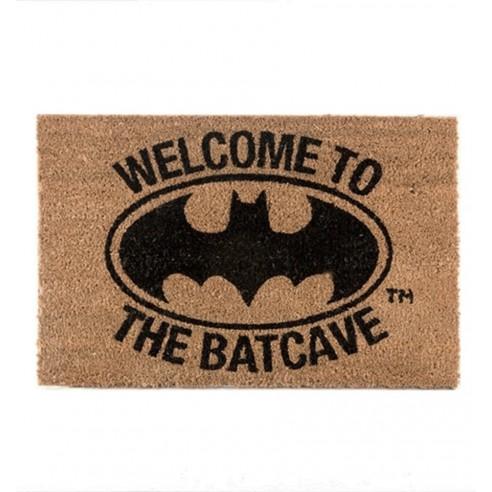 Felpudo Fibra Coco Logo Batman The Batcave