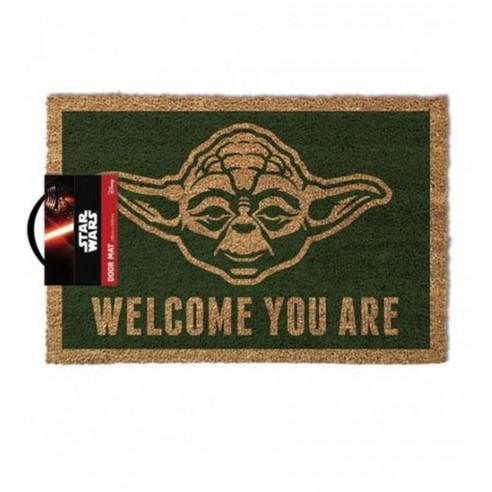 Star Wars Felpudo Yoda 40 x 60 cm