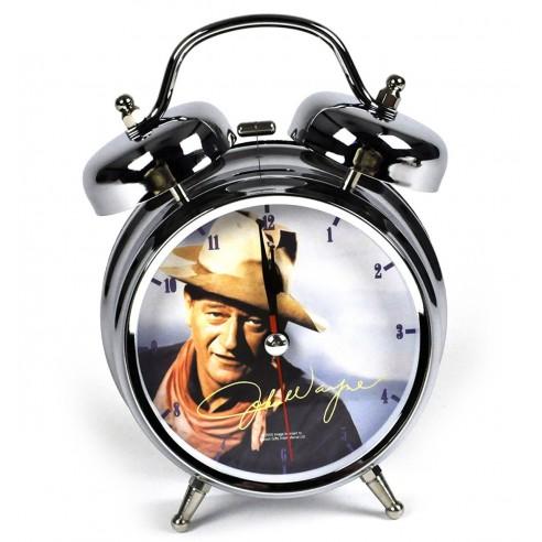 Reloj despertador John Wayne