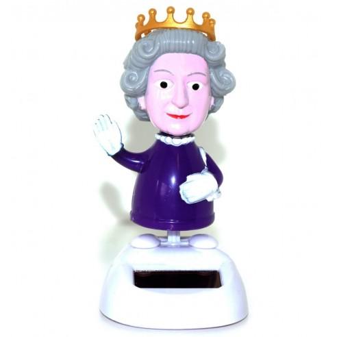 Figura Solar con Movimiento Reina Inglaterra