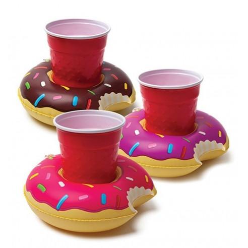 Posavasos para Piscina tipo Donuts (pack de 3)