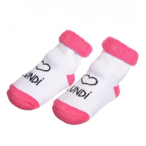Caja 7 pares de Calcetines Bebé color Rosa