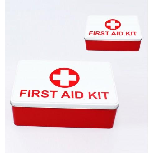 Doble Caja Metálica Medicamentos