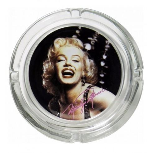 Cenicero Cristal Cara Marilyn Monroe