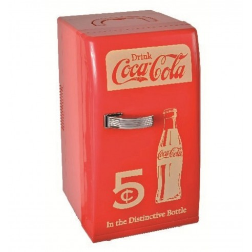 Nevera Retro 12 litros (18 latas) Coca-Cola