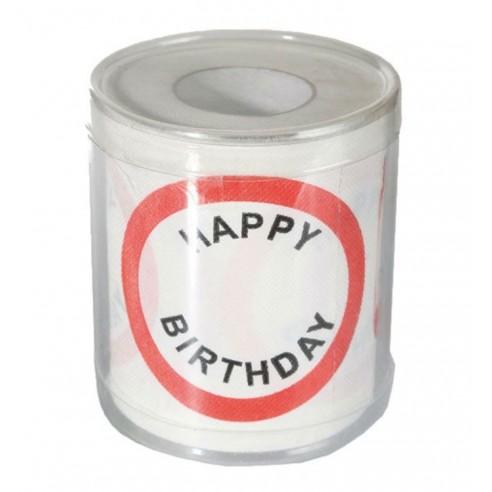 Rollo Papel Higiénico Feliz Cumpleaños
