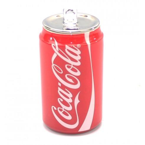Lata Coca-Cola Cerámica Doble Pared