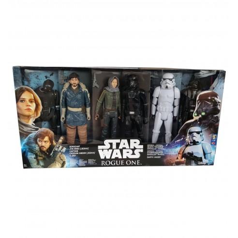 Pack 6 Figuras Star Wars 30 cm.