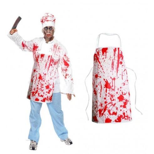 Delantal Ensangrentado Halloween