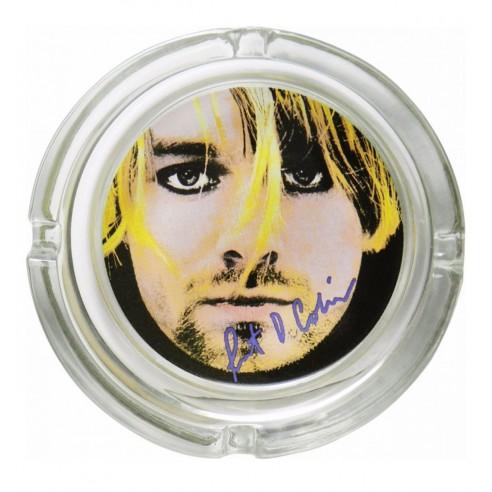 Cenicero Cristal Kurt Cobain