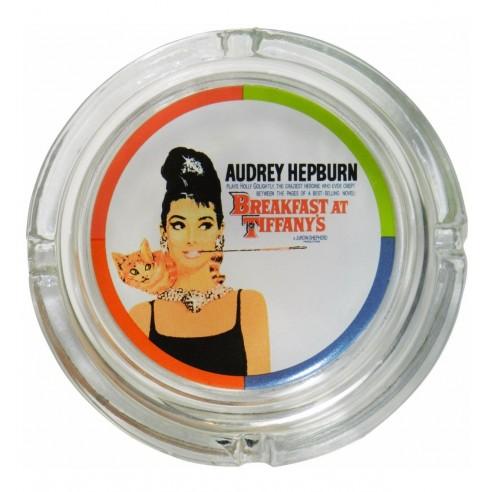 Cenicero Cristal Audrey Hepburn Desayuno con Diamantes