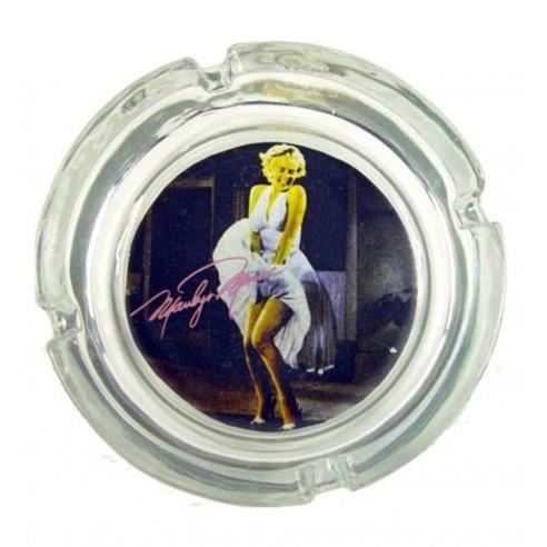 Cenicero Cristal Marilyn Monroe Vestido