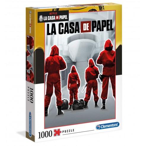 Puzzle La Casa de Papel Temporada Primera 1.000 piezas