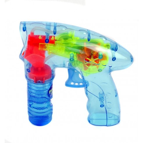 Pistola Plástico Pompas de Jabón