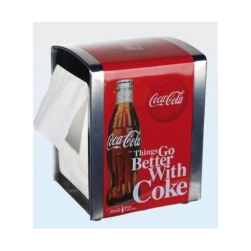 Servilletero Metál Retro Coca Cola