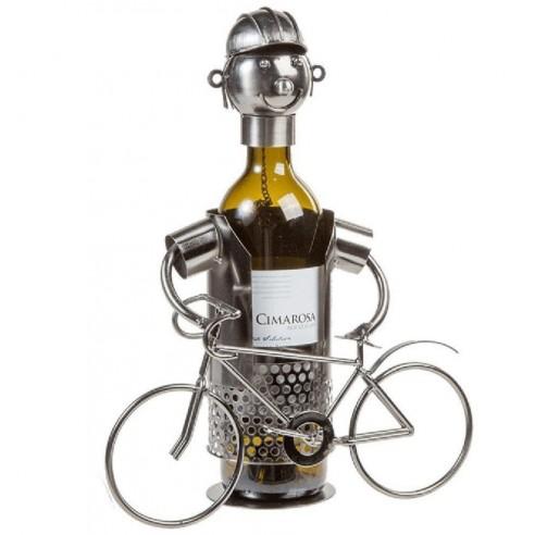 Botellero Metálico Ciclista