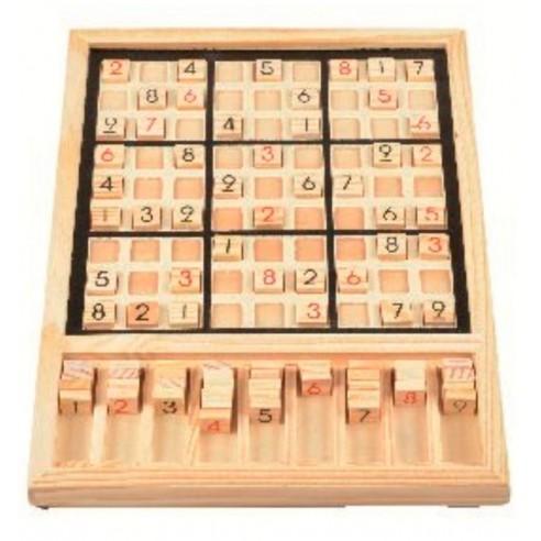 Sudoku Artesanal Madera