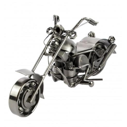 Moto Metal retro Fabricada a Mano