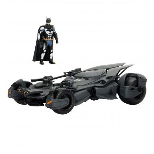 Batmovil Liga de La Justicia con Figura Batman - Escala 1:24