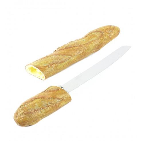 Cuchillo con forma de Barra de Pan