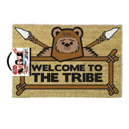 Felpudo Star Wars Welcome to the Tribe Ewok 40 x 60cm.
