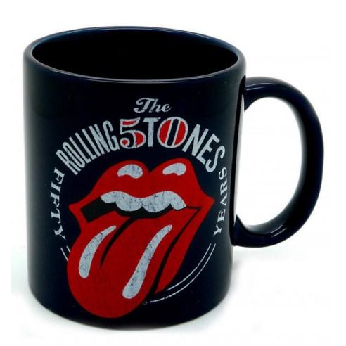 Taza Original de Colección The Rolling Stones 50 aniversario