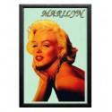 Cuadro Espejo Retro Cara Marilyn Monroe