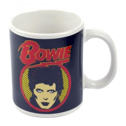 Taza Original de Colección Logotipo David Bowie
