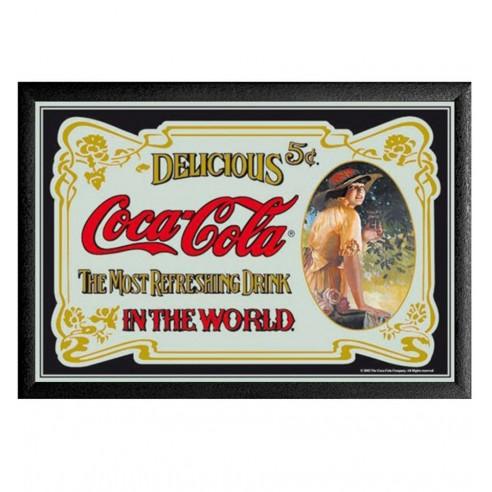 Cuadro Espejo Retro Coca Cola