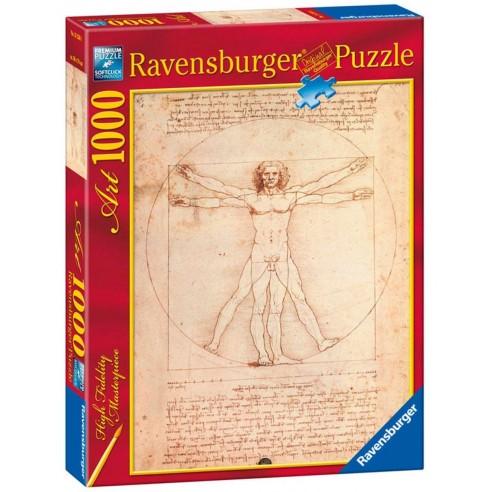 Puzzle Leonardo El Hombre De Vitruvio 1.000 piezas