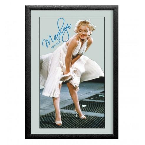 Cuadro Espejo Marilyn Monroe Vestido Blanco