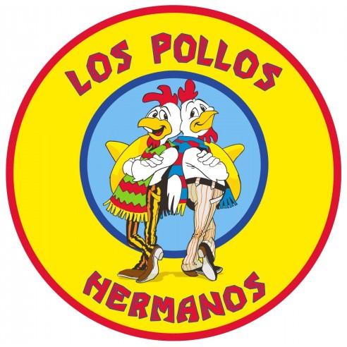 Alfombra Breaking Bad Los Pollos Hermanos 90 x 90 cm