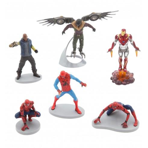 Set de Figuras de Spiderman: homecoming