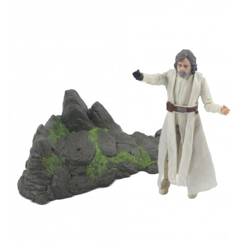 Figura Luke Skywalker Star Wars Episodio VII - Black Series Deluxe 15 cm.