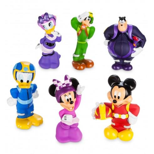Set Juguetes baño Mickey y los Superpilotos