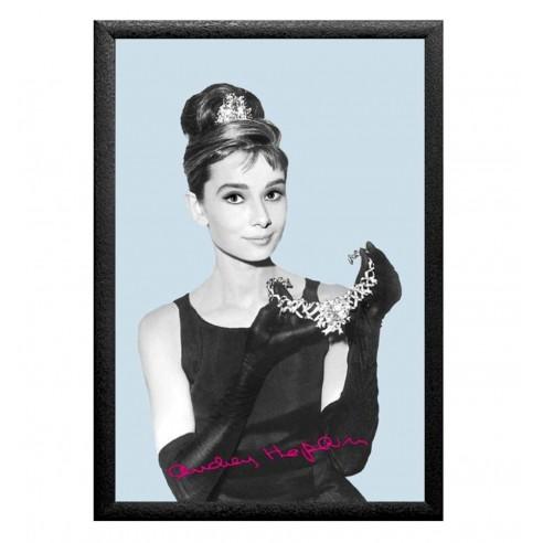 Cuadro Espejo Audrey Hepburn Tiara
