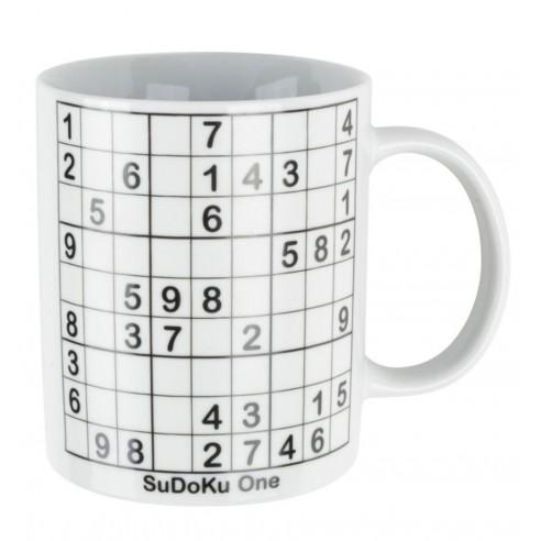 Taza Pizarra Sudoku