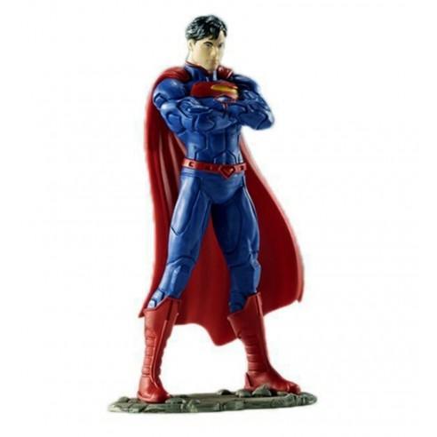 Figura Liga de la Justicia Superman 10 cm.