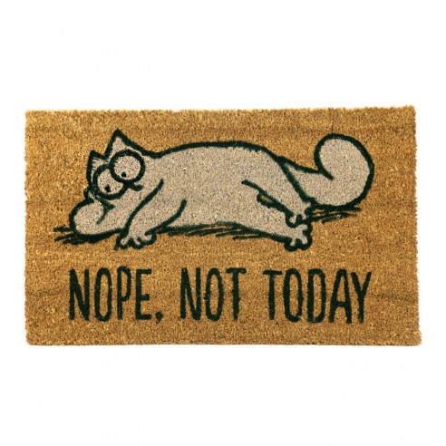 Felpudo Fibra Coco Simon´s Cat. Nope, Not Today