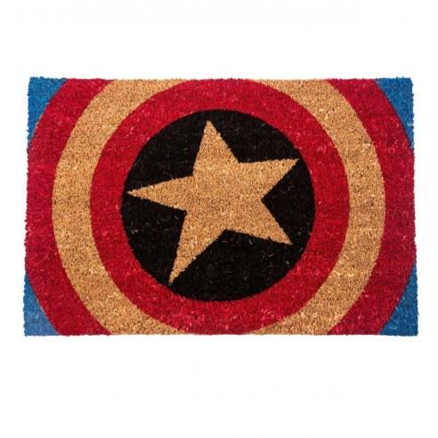 Felpudo Estrella Escudo Capitán América