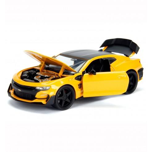 Réplica Coche Transformers Chevy Camaro Bumblebee Escala 1:24