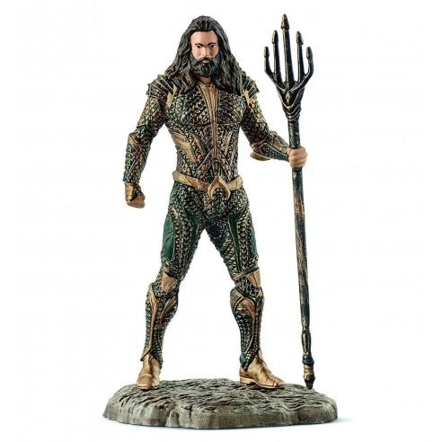 Figura Liga de la Justicia Aquaman 10 cm.
