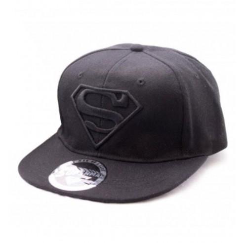 Gorra Superman Logo Negro