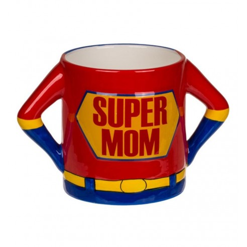 Taza de Cerámica Super Mamá