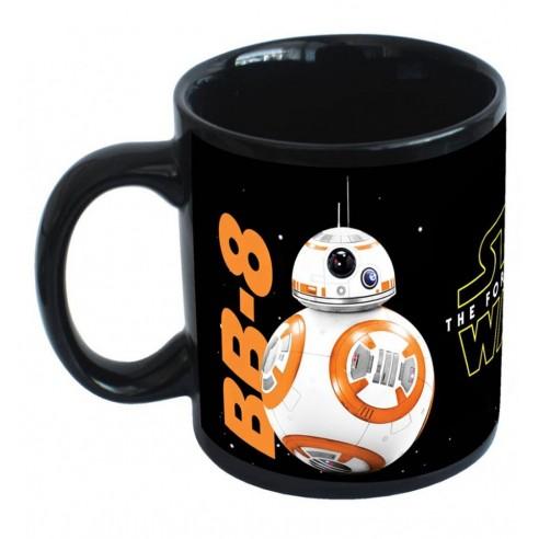 Taza Star Wars Droides R2-D2, C3PO y BB-8