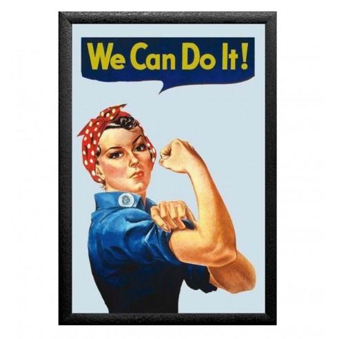 Cuadro Espejo We Can Do It