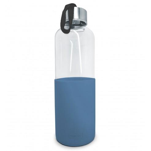 Botella Cristal con Funda Silicona 600 ml.