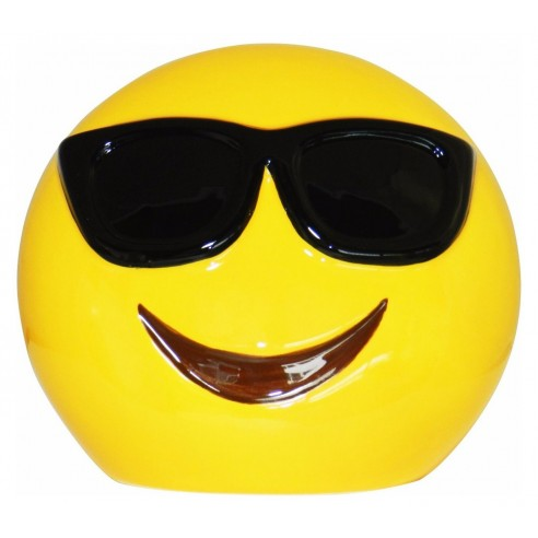 Hucha Emotion Sonrisa Gafas