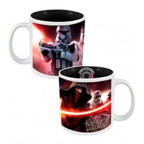 Taza Star Wars Kylo Ren y Stormtrooper Crush The Resistance